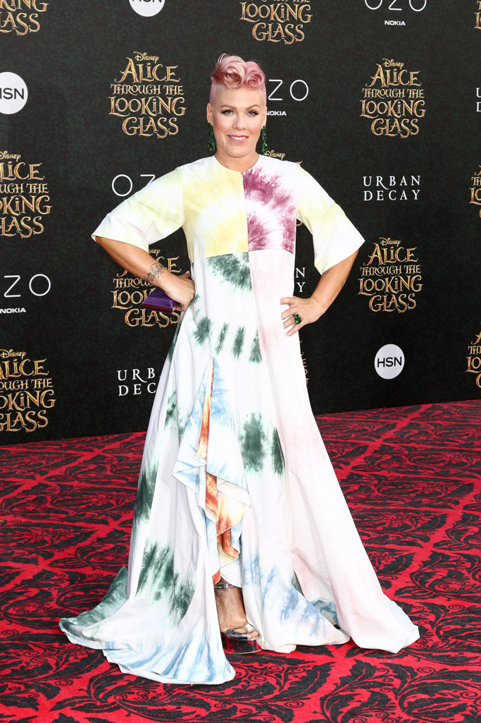 Pink Alice Through The Looking Glass Red Carpet