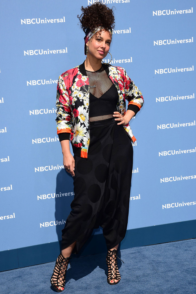 Alicia Keys NBC Upfront Presentation 2016
