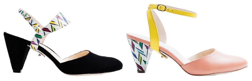 Alterre mid-heel closed-toe style.