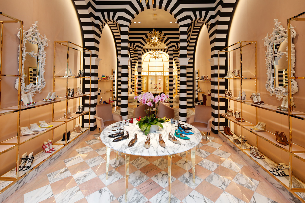 Aquazzura Shoes Store Madison Avenue NYC