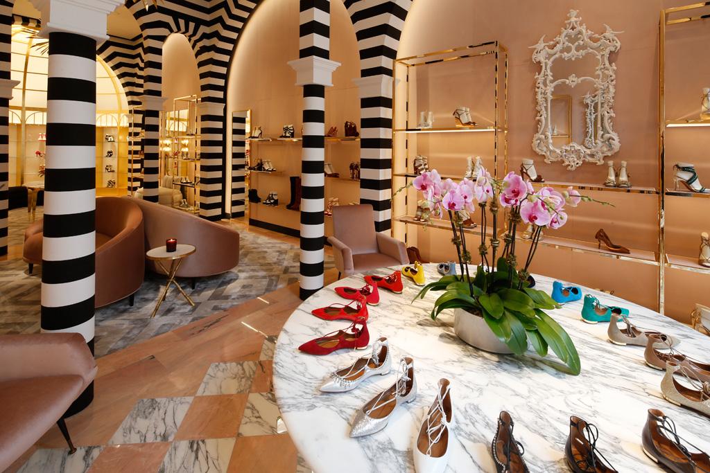 luxury shoe stores