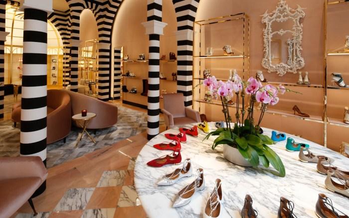 Aquazzura Shoes Store Madison Avenue NYC