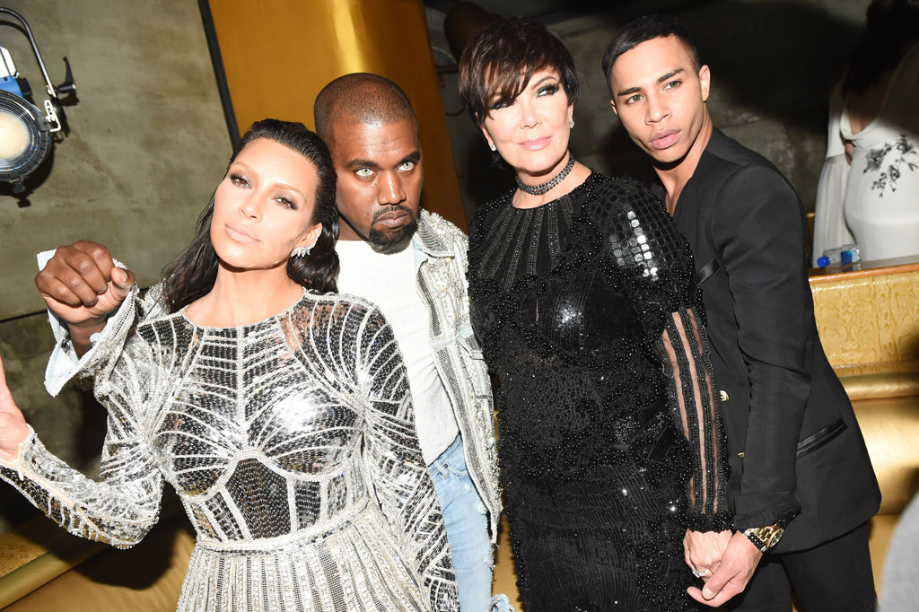 Kim Kardashian Kanye West Balmain Met Gala Party