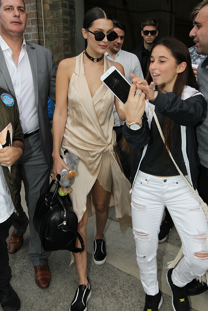 Bella Hadid Australian Fashion Week Pierre Hardy Sneakers