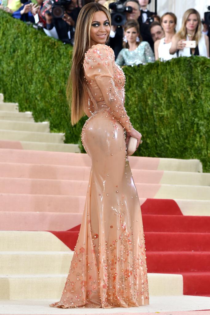 Beyoncé Met Gala 2016 Red Carpet Shoes