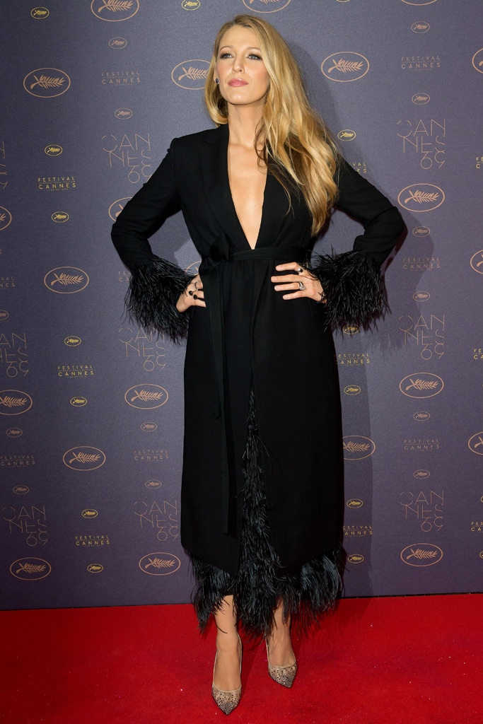 Blake Lively Cannes Film Festival Fashion
