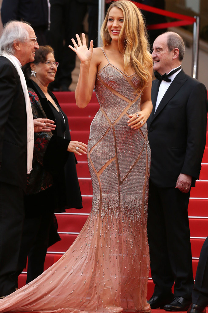 Blake Lively Cannes Film Festival 2016 Opening Ceremony