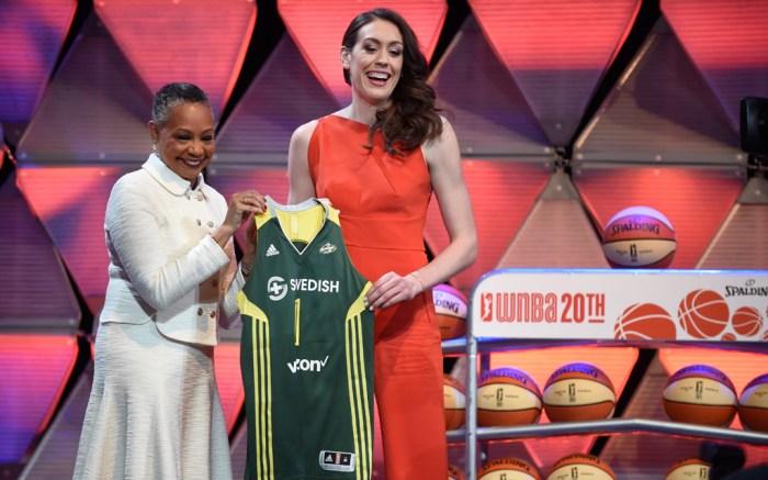 Breanna Stewart Nike KD8 Seattle Storm WNBA