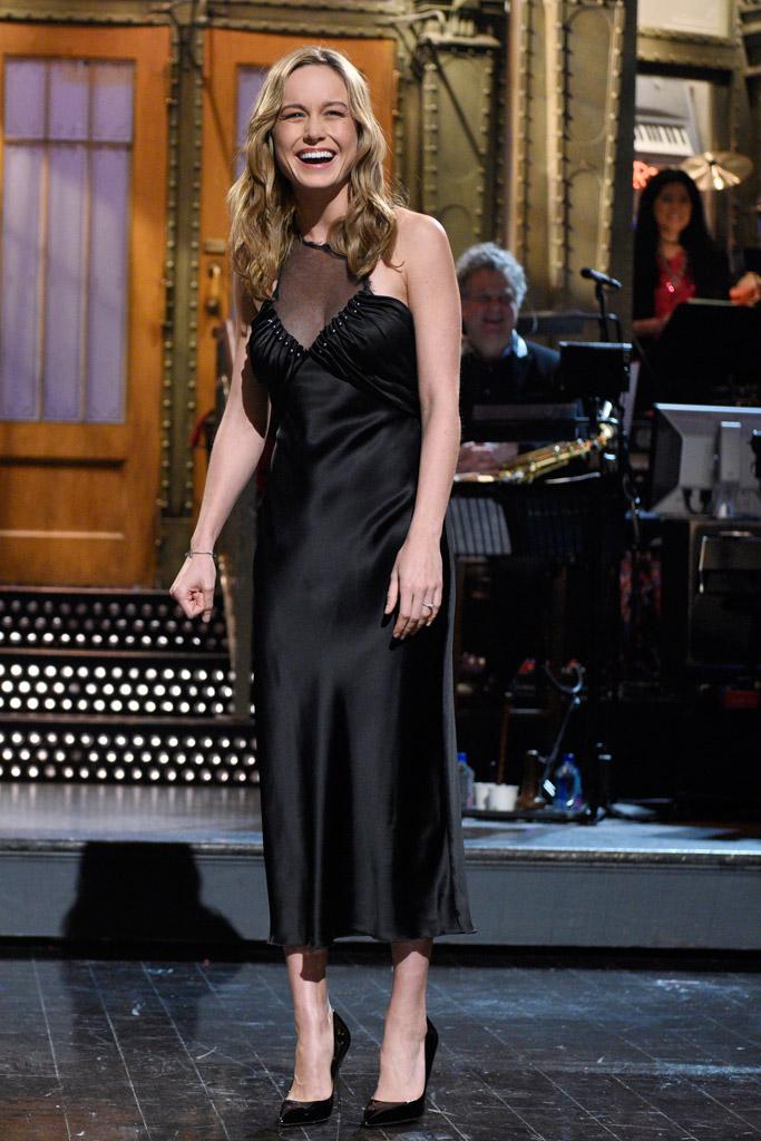 Brie Larson SNL Kurt Geiger