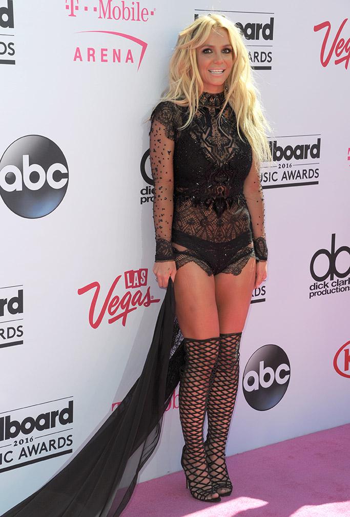 Britney Spears Billboard Awards Red Carpet 2016