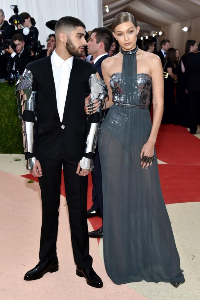 Zayn Malik Gigi Hadid Met Gala 2016 Red Carpet Shoes