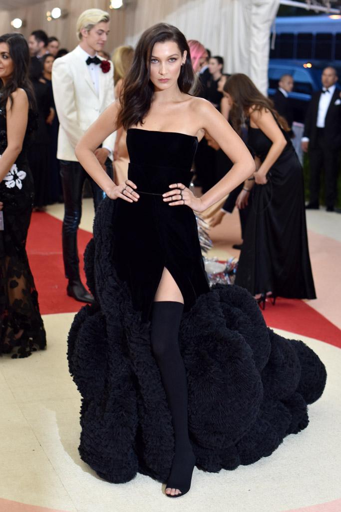 Bella Hadid Met Gala 2016 Red Carpet Shoes