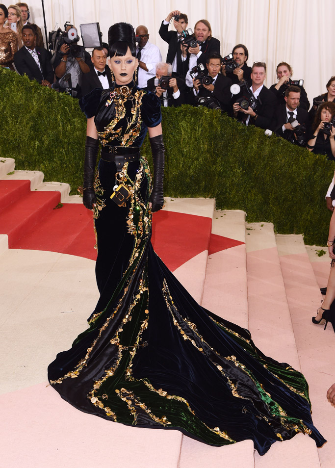 Katy Perry Met Gala 2016 Red Carpet Shoes