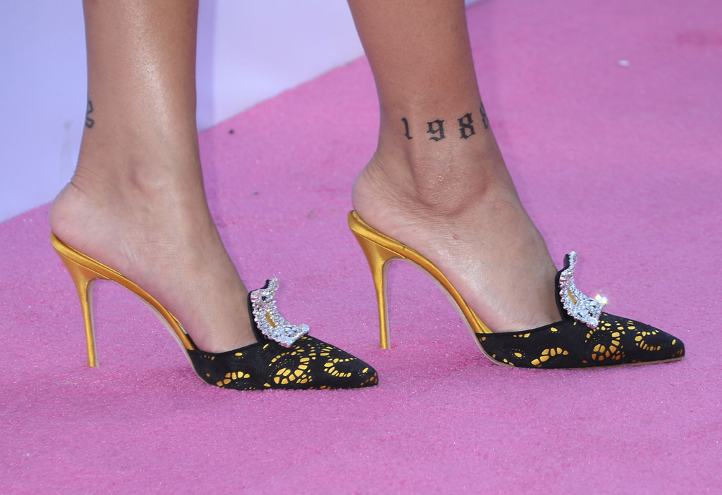 Rihanna Celebrity Statement Shoes May 2016