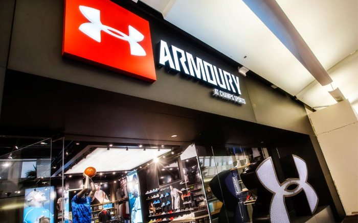 Armoury at Champs Sports