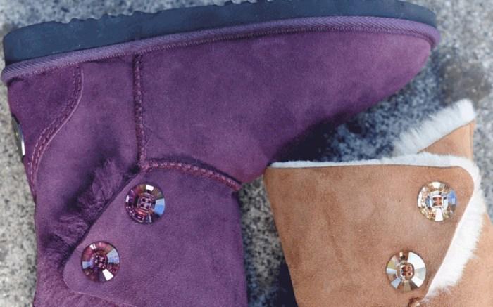 Swarovski chic empire boots