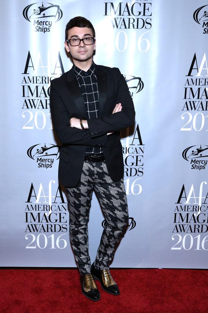 Christian Siriano AAFA Image Awards 2016