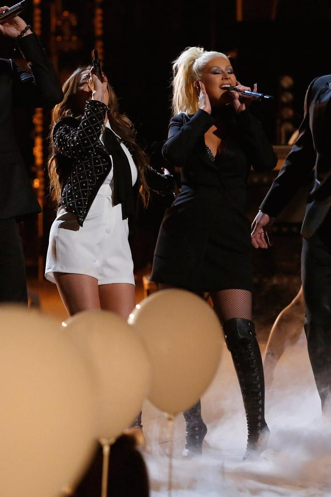 "Christina Aguilera ""The Voice"""