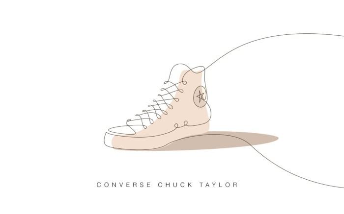 converse chuck taylor art illustration