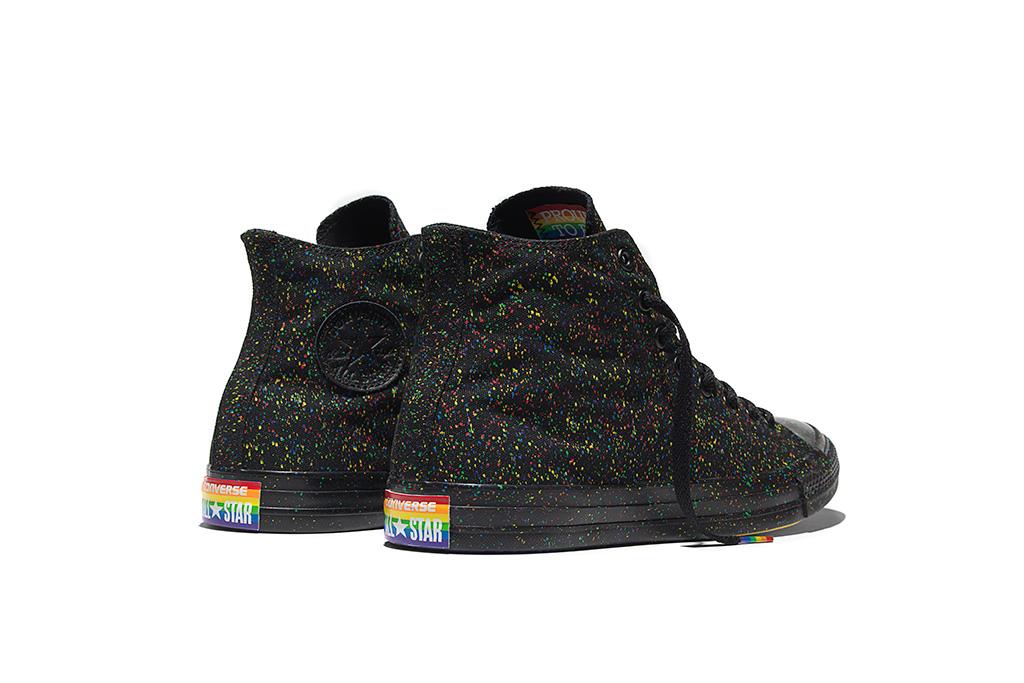 Chuck Taylor All Star Pride in Black
