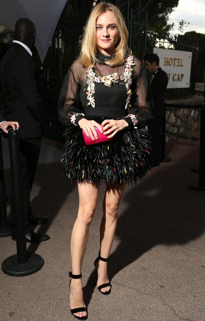 Diane Kruger amfAR Gala Cannes 2015