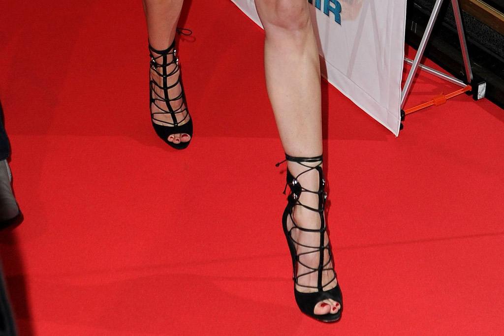May 2016: Diane Kruger's heels.