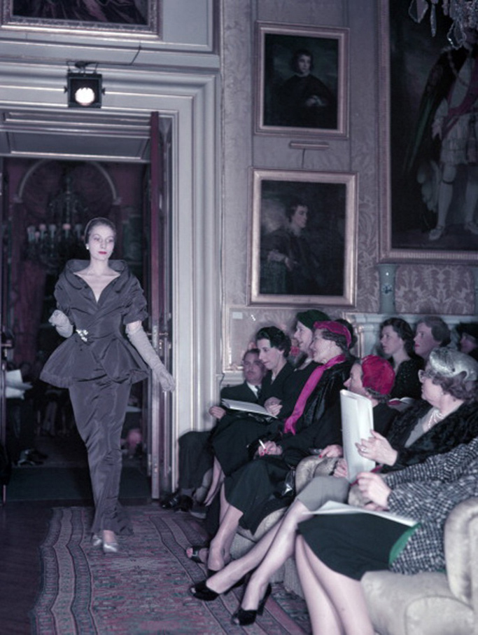 Dior Fall 1954 Collection