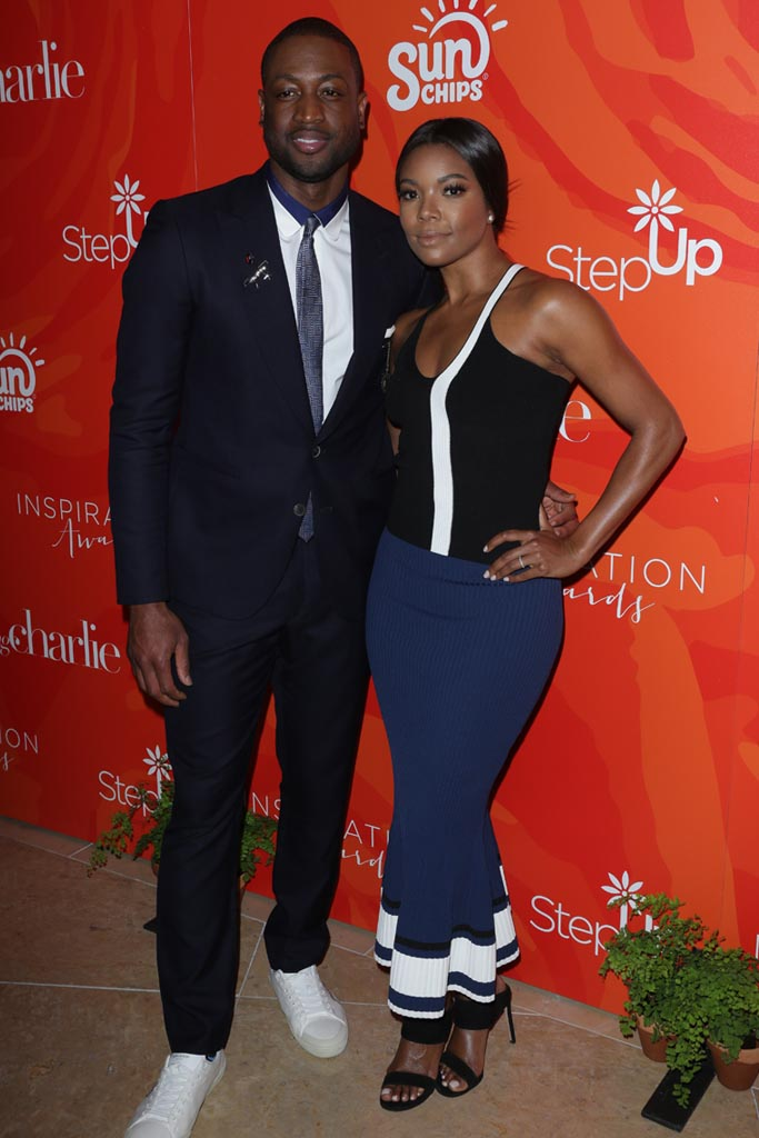 dwayne wade gabrielle union step up inspiration