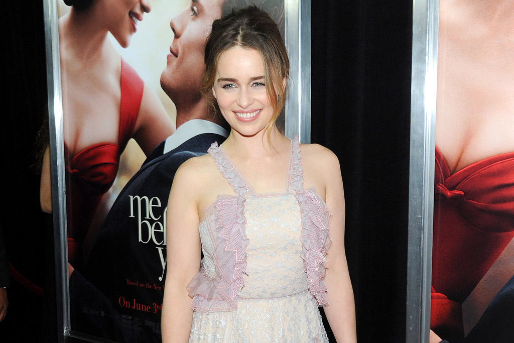 Emilia Clarke's 'Me Before You' Press Tour Shoe Style ...