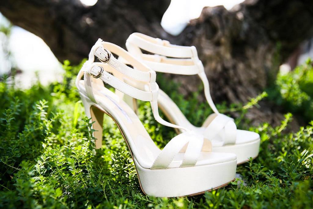 Eva Longoria Wedding Shoes