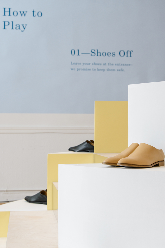 everlane shoe park pop-up