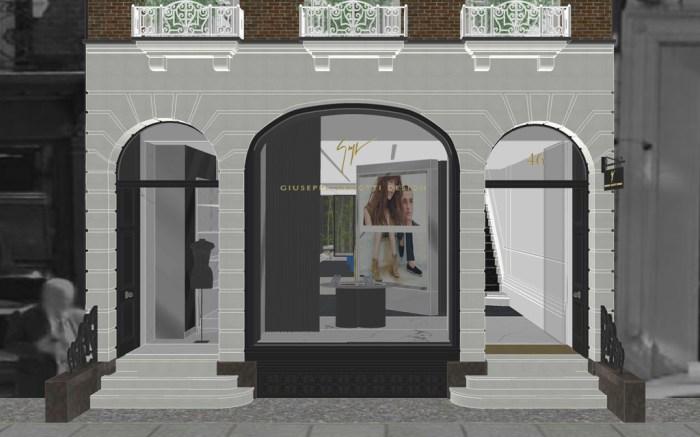Giuseppe Zanotti Store London Flagship