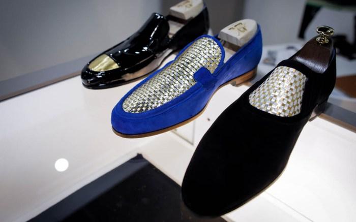 gold shoes 24-carat