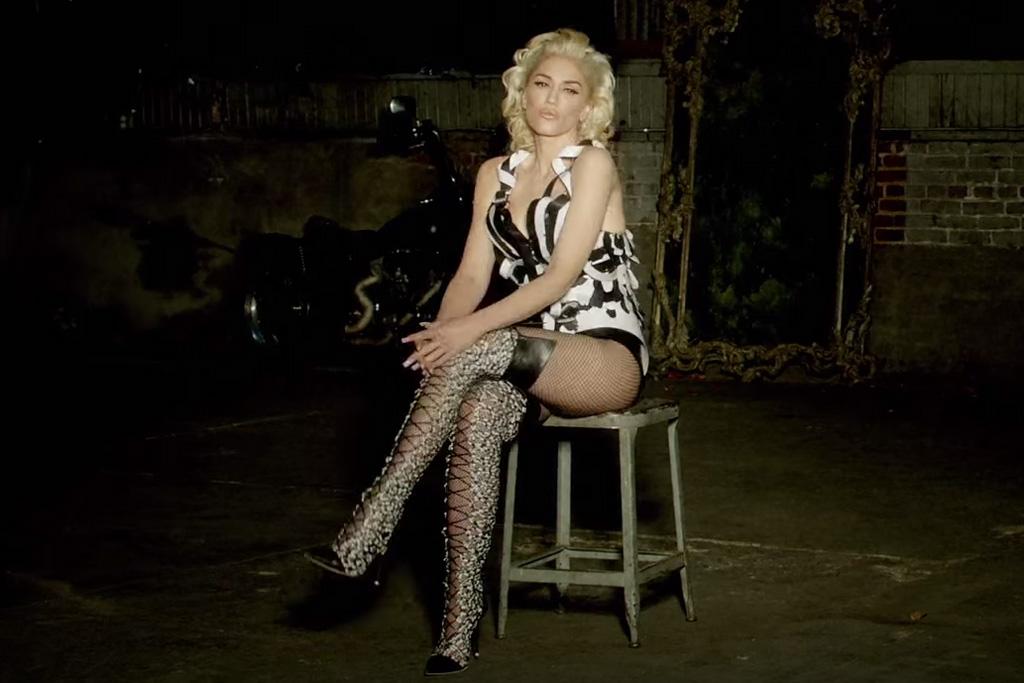 Gwen Stefani in Sophia Webster in Misery