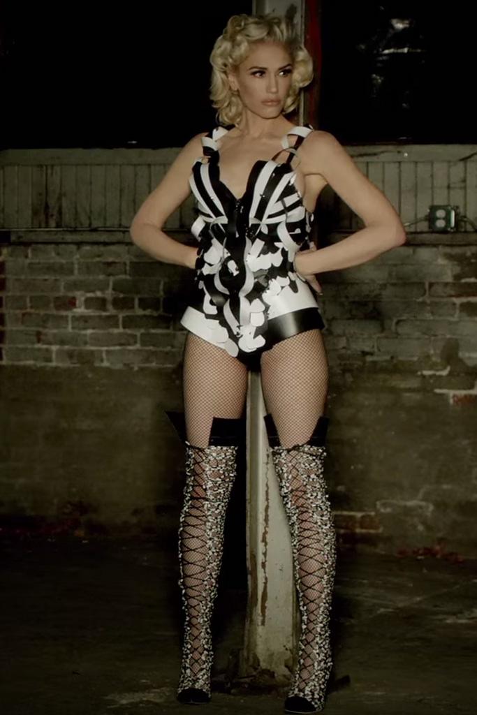 Gwen Stefani in Sophia Webster for Misery
