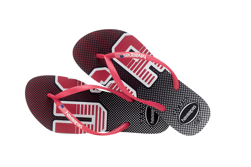 Havaianas' USA-inspired collection.