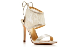 Ivanka Trump Lace Sandals Wedding Shoes