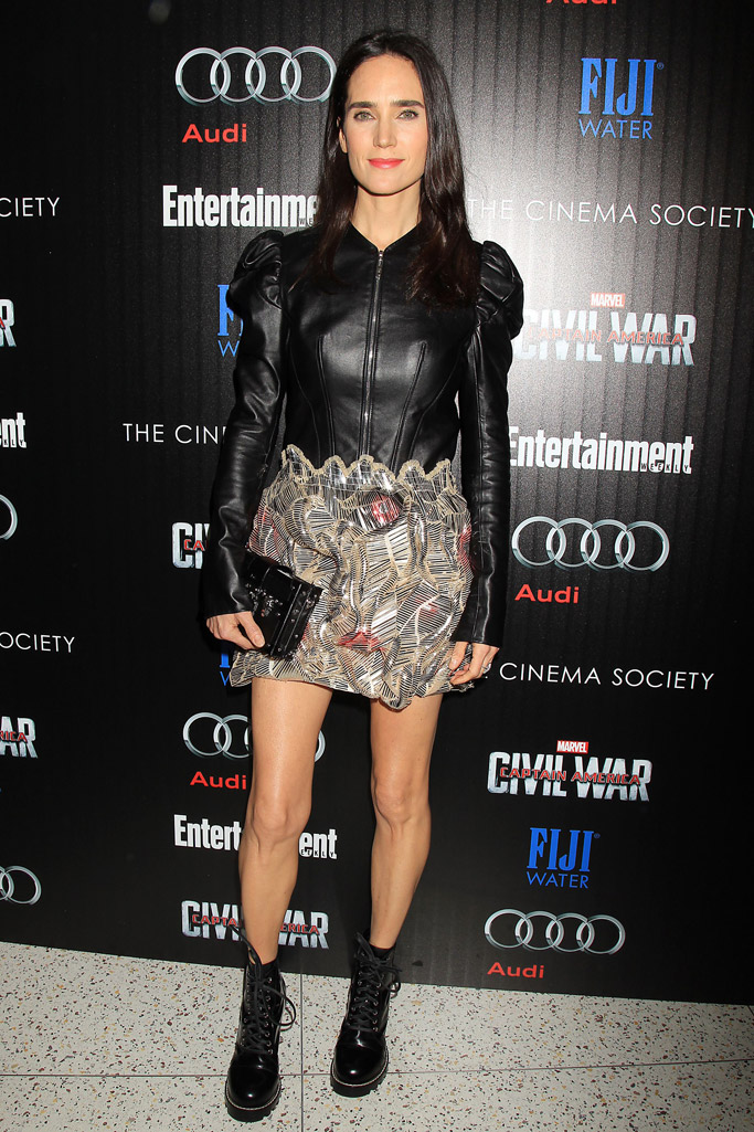 Jennifer Connelly Celebrity Statement Shoes May 2016