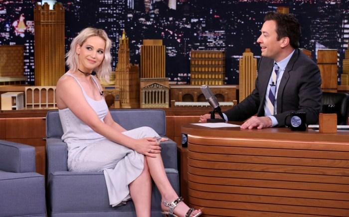 Jennifer Lawrence Tonight Show X-Men