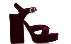 jil sander velvet sandal