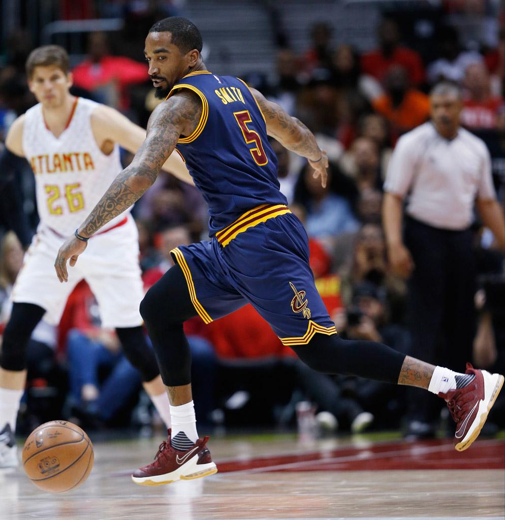 J.R. Smith Cleveland Cavaliers Nike LeBron 13 Low
