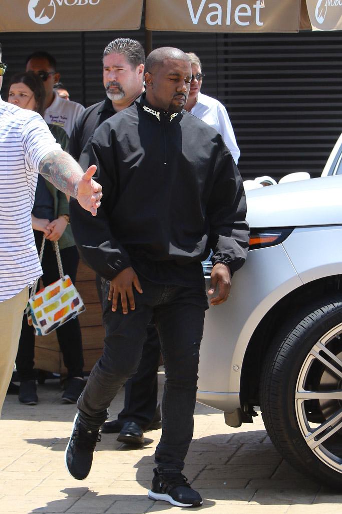 kanye west adidas ultra boost kim kardashian john legend chrissy teigen nobu