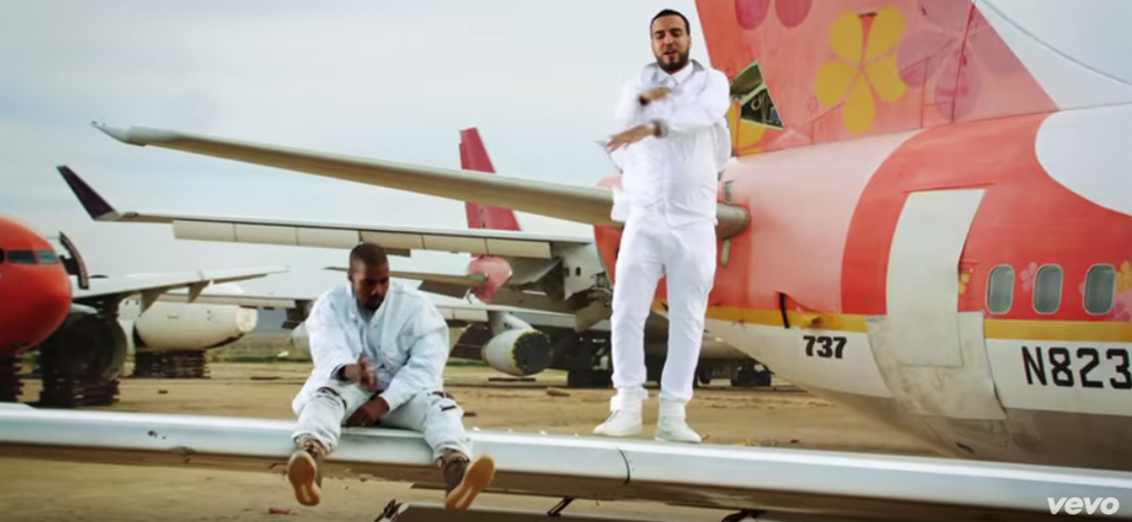 Kanye West French Montana Nas Video