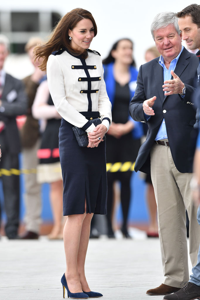 Kate Middleton Rupert Sanderson Sailing