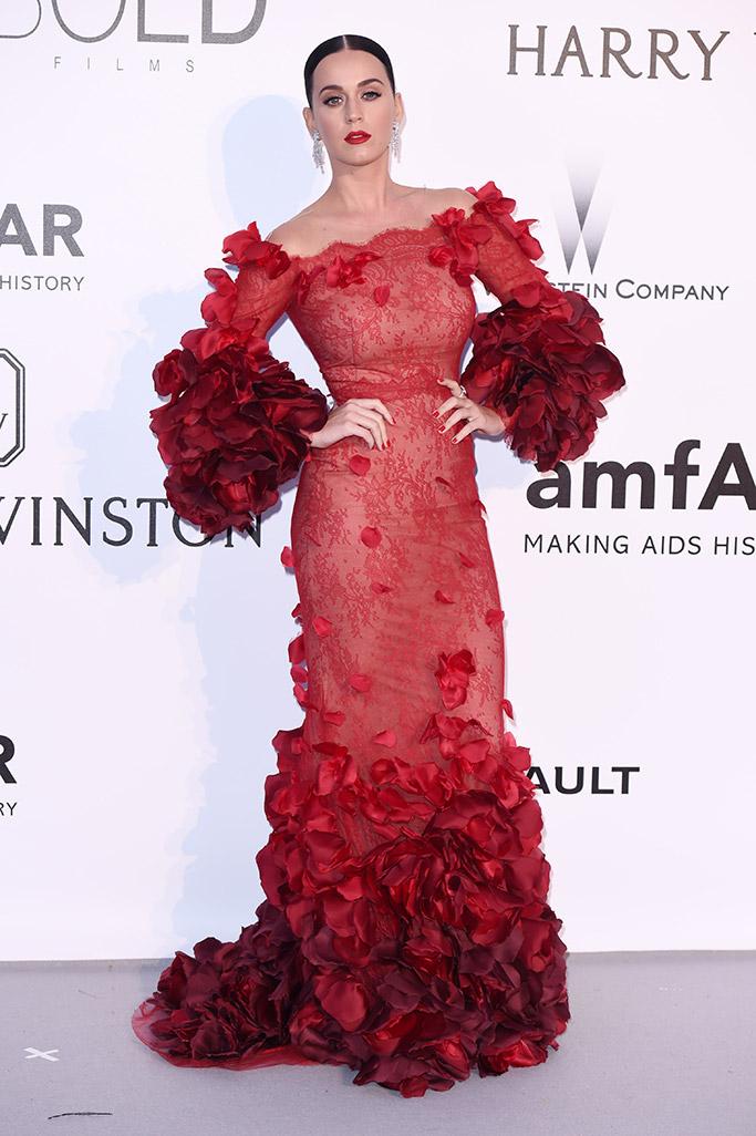 Katy Perry amfAR Gala Cannes 2016