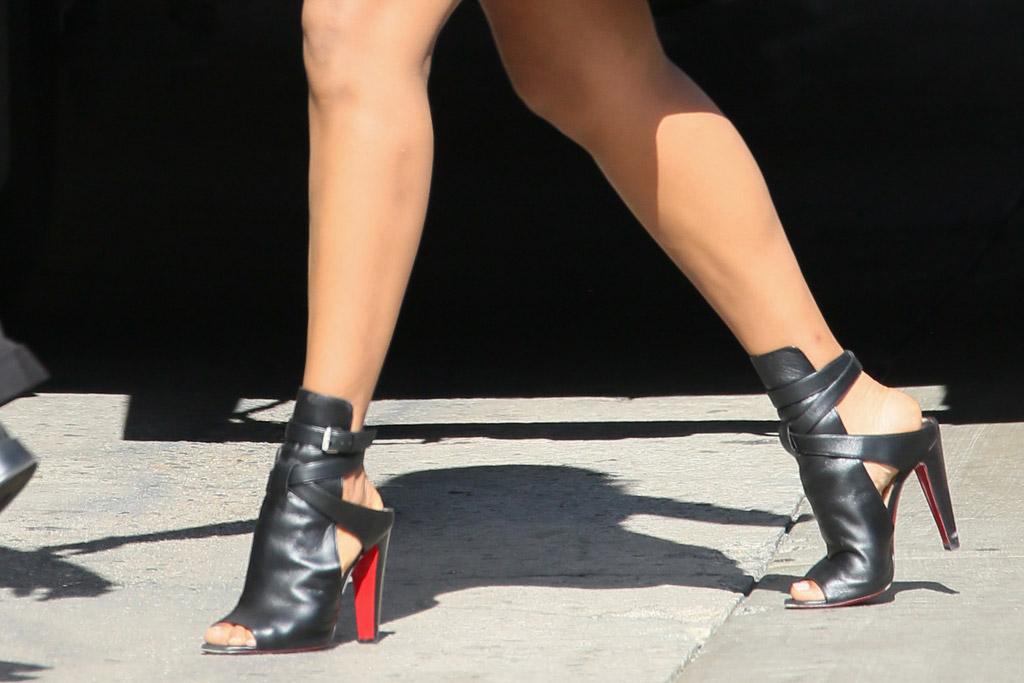 Kerry Washington Celebrity Statement Shoes May 2016