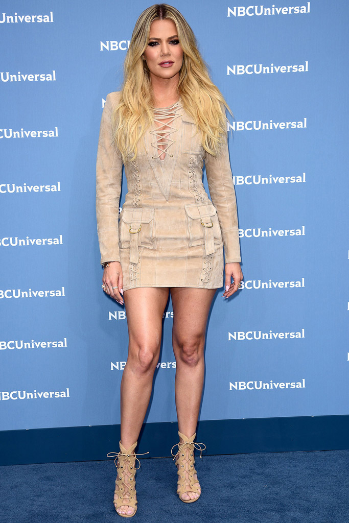 Khloe Kardashian NBC Upfront Presentation 2016