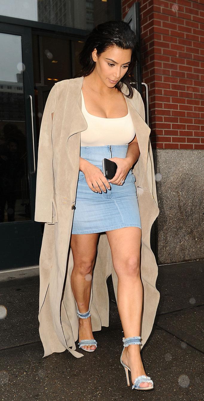 Kim Kardashian West Gianvito Rossi Sandals