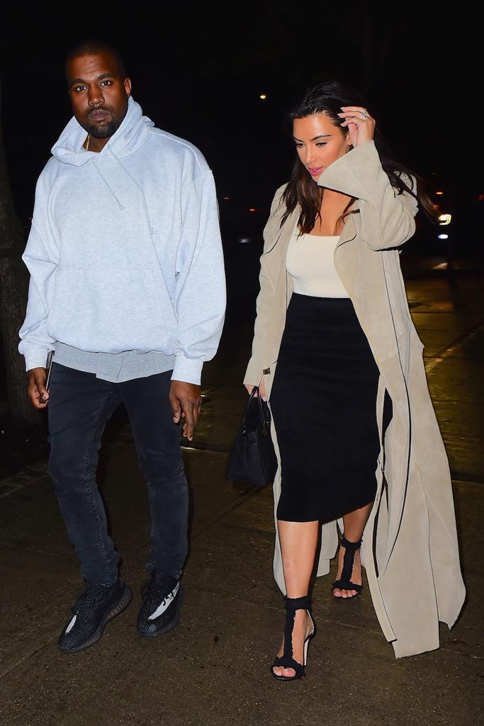 Kim Kardashian West Frayed Sandals