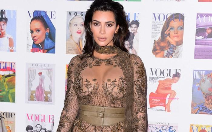 Kim Kardashian West Vogue 100 Gala